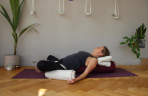 yoga for menopause pose 1